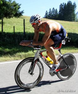 28. Internationaler Allgäu Triathlon Classic in Immenstadt - Sieger Bert Flier NED
