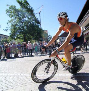 28. Internationaler Allgäu Triathlon Classic in Immenstadt - Sieger Bert Flier NED