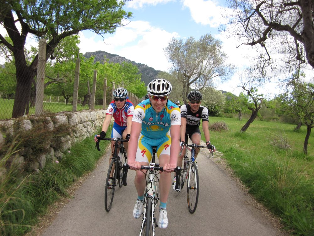 Fietsbedevaart, Zon En Kou: Mallorca-stage April 2012